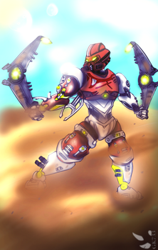 BIONICLE: Pohatu Master of Stone by gk733