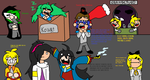 Evil's Theatre Inhabitants in a nutshell by Nneriamux4ever