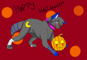 Happy Halloween by wolfangel360