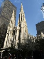 St. Patrick's Cathedral by rioka
