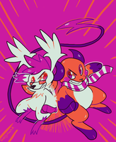 Double Punch!! by Shellyshockz