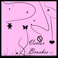Vector Stalk Art Brushes by KaiPrincess