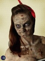 Pinup Zombie by Snaecka