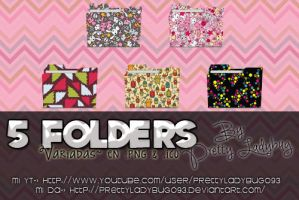 Folders Variadas by PrettyLadybug093