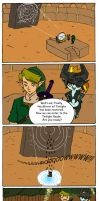 Zelda Comic: Not that twilight by DavidGongora