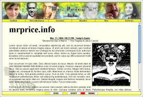 Mr. Price's Info - Layout by Blade-Genexis
