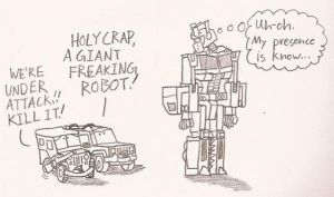 A Giant Freaking Robot by CAlpines