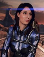 Mass Effect Fan Cast #2: Emily Blunt as Ashley by ImWithStoopid13