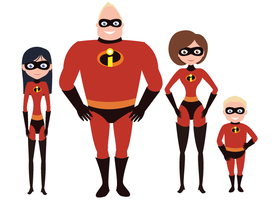 the incredibles by bethydesigns