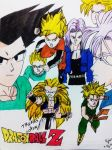Trunks Goten Gotenks by HBitwill