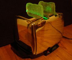 Toaster Lamp by Catchmandkillham
