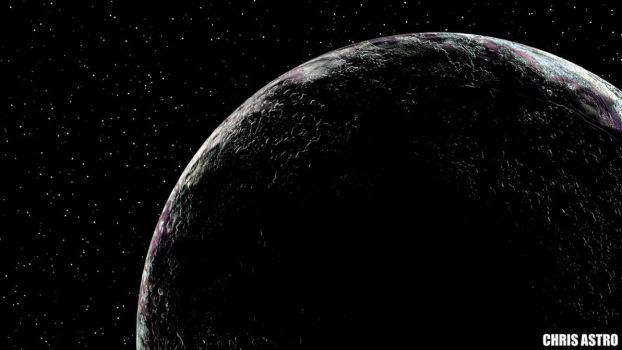 Pluto Flyby by ChrisAstro102