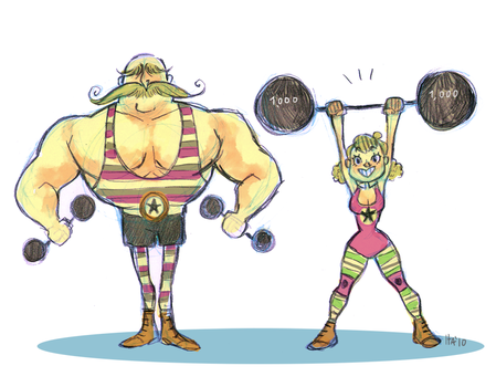 Strong Team by hayoubi