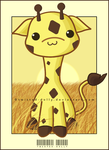 Gary the Giraffe by Twisted-Dolly