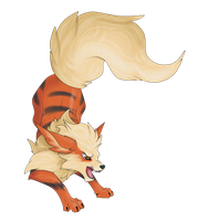 Arcanine by Sugarcup91