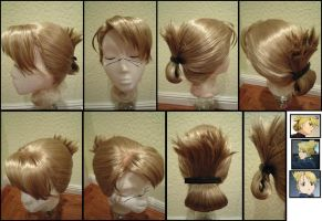 Riza Hawkeye Wig from FMA by taiyowigs