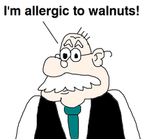 Mr. Grouse is Allergic to Walnuts by MikeEddyAdmirer89
