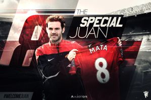 The Special Juan (Manchester United) by AlbertGFX