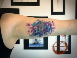 Flower of life by koraykaragozler