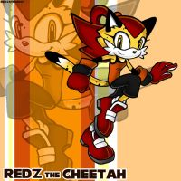 -Speedy cheetah is back- by Redztheartist