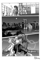 Comission: Reiko and Vida manga page by Rikeza