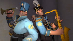 TF2: Marching Band by DePleur