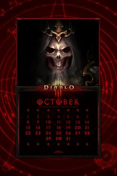 Cal. Mobile #24:  Uni October - Leoric by Holyknight3000