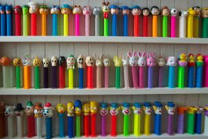 Wall-o-Pez by IconicDreams