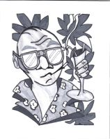 hunter s thompson by cheshire-cat-19
