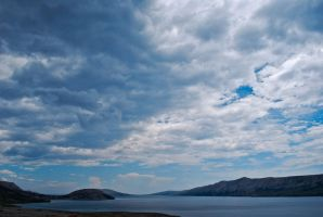 Cloudy day on Pag Island by ReneHaan