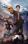 Eleventh Doctor Who by cehnot
