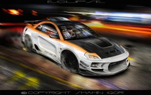 Mitsubishi Eclipse by tuninger