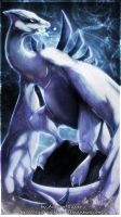 Guardian of Water - Lugia by Aurora-Silver