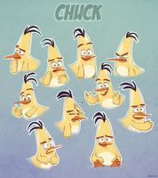 Chuck Expressions by AngryBirdsArtist