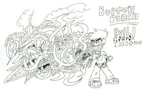 Burrow PUNCH by PlaystationNerd