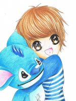 LuHan and Stitch~^^ by taeminlover94