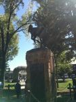 Statue in Jackson Hole Square 1 by JadeTorchwood