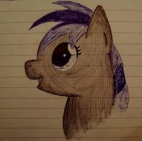 My Little Sketches - Lightfast in blue and black by XcubX
