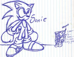 Sonic - Actually... sonic... by natpantha