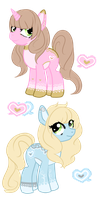 Customs for EvilSylveon and chaoticpiplup by Vania-k