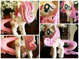 Fluttershy Plush: by greepix
