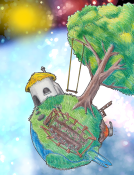 My Home Planet by Autumn--Fyre