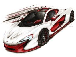 McLaren P1 Bespoke Project 8 by Medvezh