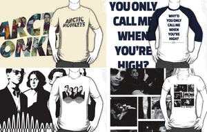Arctic Monkeys shirts collection. by albertodsantos
