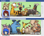 FB TIMELINEEE YAY by carrotpudding