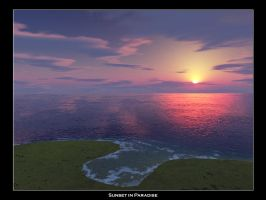Sunset in Paradise by McMike