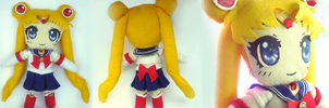 Sailor Moon Plushie by frillycarnival