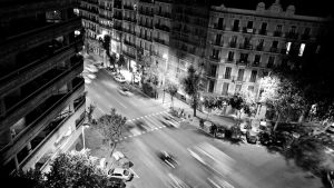 Barcelona from the top by Hadcorp