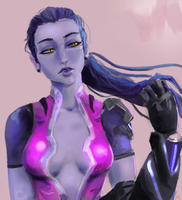 Widowmaker sketch by TheOWNI