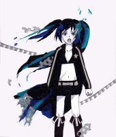 Black Rock Shooter by naminote